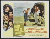 """From Here to Eternity (Columbia, 1953). Lobby Card Set of 8 (11"""" X 14""""). War.... (Total: 8 Items)"""