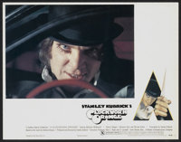 "A Clockwork Orange (Warner Brothers, 1971). Deluxe Lobby Card Set of 13 (11"" X 14""). Science Fiction.... (Tota..."