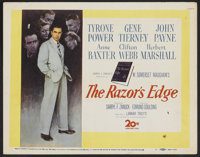 "The Razor's Edge (20th Century Fox, 1946). Lobby Card Set of 8 (11"" X 14""). Drama.... (Total: 8 Items)"