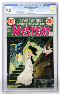 House of Mystery #210 (DC, 1973) CGC NM/MT 9.8 White pages