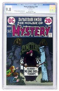 House of Mystery #208 (DC, 1972) CGC NM/MT 9.8 White pages