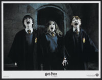 "Harry Potter and the Sorcerer's Stone (Warner Brothers, 2001). International Lobby Card Set of 12 (11"" X 14"")..."