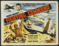 """Movie Posters:War, We've Never Been Licked (Realart, R-1950). Half Sheet (22"""" X 28"""").War. Re-released under the title """"Fighting Command."""" Star..."""