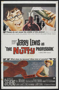 "Movie Posters:Comedy, The Nutty Professor (Paramount, 1963). One Sheet (27"" X 41""). Comedy. Starring Jerry Lewis, Stella Stevens, Del Moore, Kathl..."