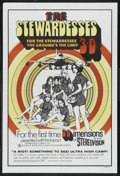 """Movie Posters:Adult, The Stewardesses (Sherpix,1969). One Sheet (27"""" X 41"""") 3-D Style. Adult...."""