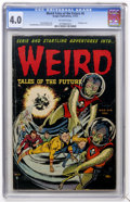 Golden Age (1938-1955):Horror, Weird Tales of the Future #6 (Aragon, 1953) CGC VG 4.0 Off-whitepages....
