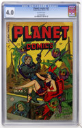 Golden Age (1938-1955):Science Fiction, Planet Comics #69 (Fiction House, 1953) CGC VG 4.0 Off-whitepages....