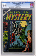 Golden Age (1938-1955):Horror, Journey Into Mystery #14 (Marvel, 1953) CGC FN 6.0 Off-white towhite pages....