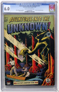 Golden Age (1938-1955):Horror, Adventures Into The Unknown #5 (ACG, 1949) CGC FN 6.0 Cream tooff-white pages....