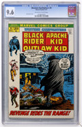 Bronze Age (1970-1979):Western, Western Gunfighters #9 (Marvel, 1972) CGC NM+ 9.6 Off-white to white pages....