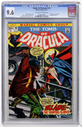 Bronze Age (1970-1979):Horror, Tomb of Dracula #10 (Marvel, 1973) CGC NM+ 9.6 Off-white to whitepages....