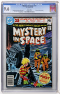 Modern Age (1980-Present):Science Fiction, Mystery in Space #111 (DC, 1980) CGC NM+ 9.6 White pages....