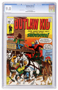 Bronze Age (1970-1979):Western, Outlaw Kid #1 (Marvel, 1970) CGC VF/NM 9.0 Off-white to white pages....