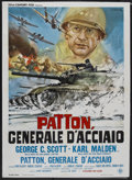"Movie Posters:War, Patton (20th Century Fox, 1970). Italian 2 - Folio (38.25"" X53.5""). War...."