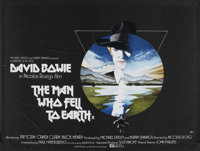 "The Man Who Fell to Earth (Lion International, 1976). British Quad (30"" X 40""). Science Fiction"