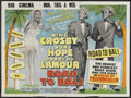 """Movie Posters:Comedy, Road to Bali (Paramount, 1952). British Quad (30"""" X 40""""). Comedy...."""
