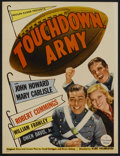 "Movie Posters:Sports, Touchdown, Army (Paramount, 1938). Midget Window Card (8"" X 10.5""). Sports...."