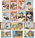 Baseball Cards:Lots, 1955-1962 Topps & Bowman Baseball Collection (200) IncludingMany Stars & HoFers! ...