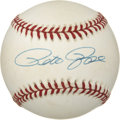 Autographs:Baseballs, Pete Rose Single Signed Baseball (Giamatti)....
