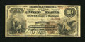 National Bank Notes:Virginia, Norfolk, VA - $10 1882 Brown Back Fr. 482 Norfolk NB Ch. # 3368....