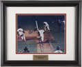 Autographs:Others, Bill Buckner and Mookie Wilson Dual-Signed Photograph....
