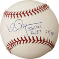 Autographs:Baseballs, Mark McGwire Single Signed Baseball With 583 HRS ROY 87Inscription. ...
