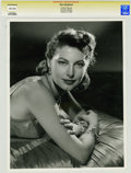 Movie/TV Memorabilia:Photos, Ava Gardner Vintage Photo Portrait by Clarence Bull....