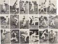 Baseball Cards:Sets, 1954-56 Spic and Span Milwaukee Braves Complete Set (18)....