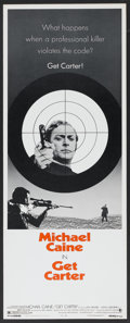 "Movie Posters:Crime, Get Carter (MGM, 1971). Insert (14"" X 36""). Crime...."