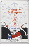 """Movie Posters:Comedy, Dr. Strangelove or: How I Learned to Stop Worrying and Love the Bomb. (Columbia, 1964). One Sheet (27"""" X 41""""). Comedy...."""