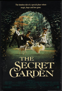 """The Secret Garden (Warner Brothers, 1993). One Sheet (27"""" X 41"""") Double Sided. Family"""