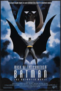 "Movie Posters:Animated, Batman: Mask of the Phantasm (Warner Brothers, 1993). One Sheet(27"" X 40"") DS. Animated...."