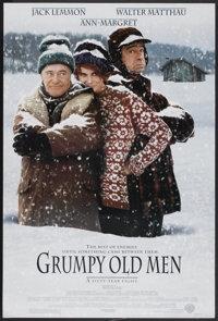 """Grumpy Old Men (Warner Brothers, 1993). One Sheet (27"""" X 40"""") DS. Comedy"""