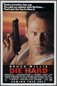 "Die Hard (20th Century Fox, 1988). One Sheet (27"" X 41"") Advance. Action"