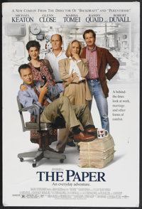 "The Paper (Universal, 1994). One Sheet (27"" X 40""). Comedy"