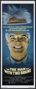 "Movie Posters:Comedy, The Man with Two Brains (Warner Brothers, 1983). Insert (14"" X 36""). Comedy...."