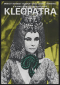 "Movie Posters:Historical Drama, Cleopatra (20th Century Fox, 1966). Czech Poster (11"" X 16"").Historical Drama...."