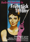"Movie Posters:Romance, Breakfast At Tiffany's (Paramount, R-1980s). German A1 (23.5"" X 33""). Romance...."