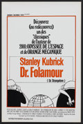 """Movie Posters:Comedy, Dr. Strangelove or: How I Learned to Stop Worrying and Love theBomb. (Columbia, R-1970s). Belgian (14.25"""" X 21.75""""). Comedy..."""