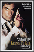 "Movie Posters:James Bond, Licence to Kill (United Artists, 1989). One Sheet (27"" X 41"")Advance. James Bond...."
