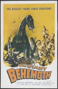 "Movie Posters:Science Fiction, The Giant Behemoth (Allied Artists, 1959). One Sheet (27"" X 41"").Science Fiction...."