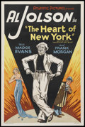 """Movie Posters:Musical, The Heart of New York (Atlantic Pictures, R-1938). One Sheet (27"""" X41""""). Musical...."""