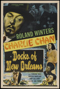 """Movie Posters:Mystery, Docks of New Orleans (Monogram, 1948). One Sheet (27"""" X 41"""").Mystery...."""