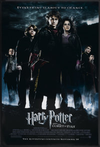 """Harry Potter and the Goblet of Fire (Warner Brothers, 2005). One Sheet (27"""" X 40"""") SS Advance. Fantasy"""