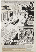 Original Comic Art:Splash Pages, Jim Aparo The Brave and the Bold #131 Batman Title Page 1Original Art (DC, 1976)....