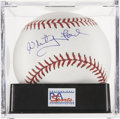 Autographs:Baseballs, Whitey Ford Single Signed Baseball PSA Mint+ 9.5....