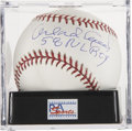 "Autographs:Baseballs, Orlando Cepeda ""58 NL ROY"" Single Signed Baseball, PSA Gem Mint10...."
