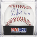 Autographs:Baseballs, Greg Maddux Single Singed Baseball PSA Gem Mint 10....