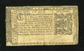 Colonial Notes:Maryland, Maryland April 10, 1774 $1/6 About Very Fine....