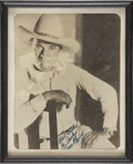 Memorabilia:Movie-Related, Tom Mix Photo (undated)....